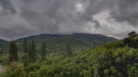 California Landscape Hyperlapse stock footage