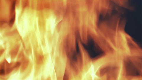 Fireplace Wood Flames Filmmaterial