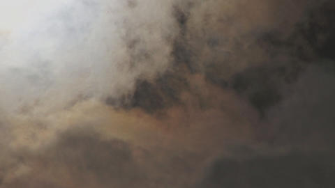 Dense ethereal clouds Footage