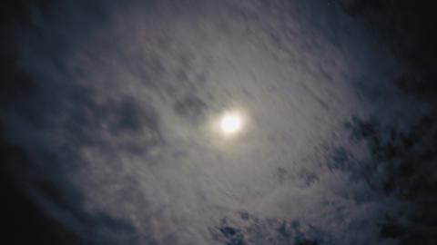 Night clouds Footage