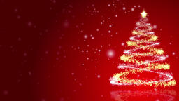 Christmas background with lots of copy space snow and a sparkling christmas Image