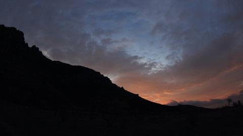 Timelapse sunrise in the mountains Demerdji. Alushta,... Stock Video Footage