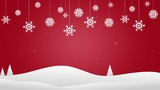 Christmas Background CG動画素材