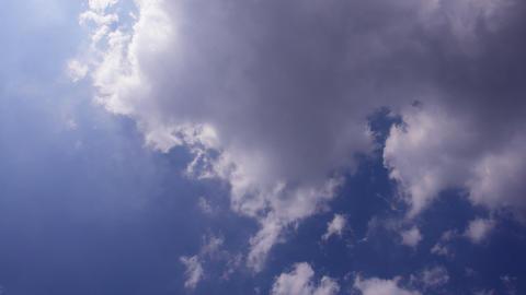 Sky Cloud 110812 B 2 D 1 Wide Stock Video Footage