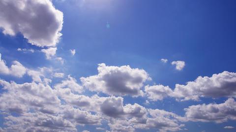 Sky Cloud 110912 B 2 HD Stock Video Footage