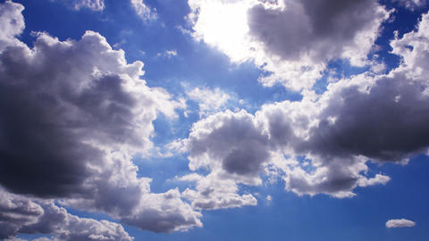 Sky Cloud 110915 B 2 HD Animation