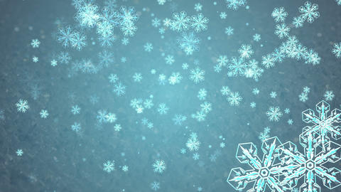 snowflake 6 Stock Video Footage