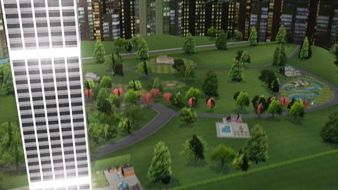 Skyscraper Panning Animation Animation