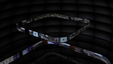 Film Strip Montage Stock Video Footage