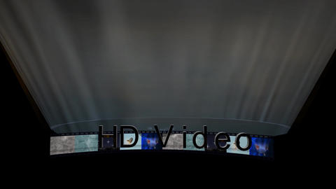 HD Video Credit Stock Video Footage