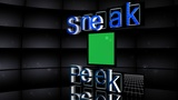 """Sneak Peek"" 3D Letter Animation Stock Video Footage"