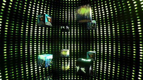 Video Cubes Elements Stock Video Footage