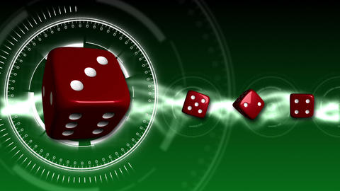 Casino Dice Background - Casino 15 (HD) Animation