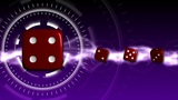 Casino Dice Background - Casino 19 (HD) stock footage