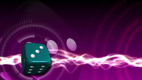 Casino Dice Background - Casino 25 (HD) Animation
