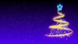 Christmas Tree Background - Merry Christmas 18 (HD) Animation