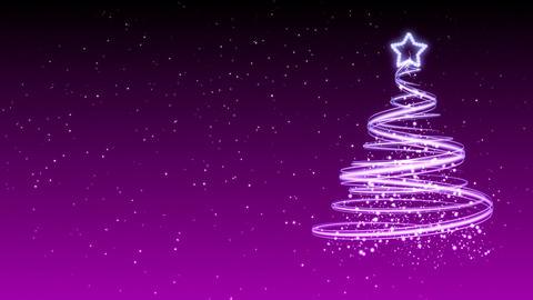Christmas Tree Background - Merry Christmas 33 (HD) Animation