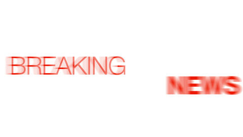 Breaking News Stock Video Footage