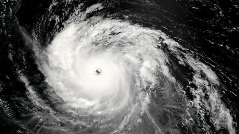 Hurricane Matte 02 Stock Video Footage