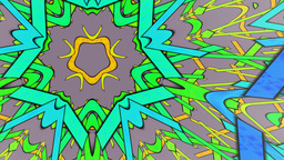 Pattern in the form of a star Stock Video Footage