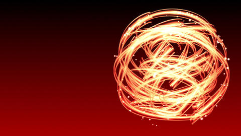 Light Streaks Circle - Abstract Background 67 (HD) Animation