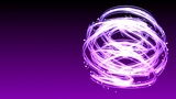 Light Streaks Circle - Abstract Background 69 (HD) Animation