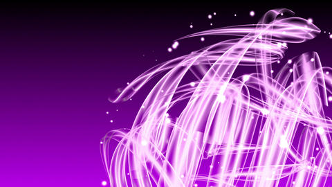 Light Streaks - Abstract Background 73 (HD) Stock Video Footage