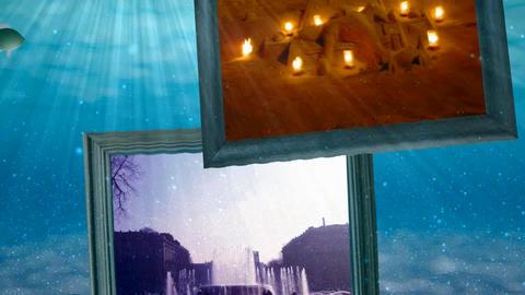 Underwater album After Effectsテンプレート