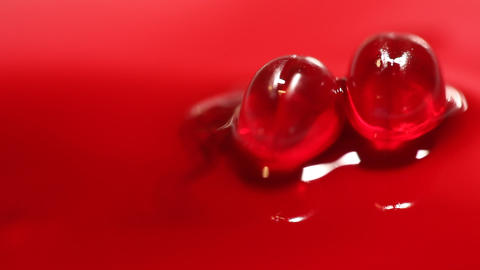 Blood cells close up Live Action