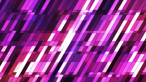 Broadcast Twinkling Slant Hi-Tech Small Bars, Purple Magenta, Abstract, Animation