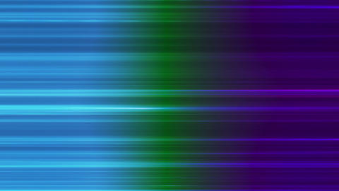 Broadcast Horizontal Hi-Tech Lines, Multi Color, Abstract, Loopable, HD Animation