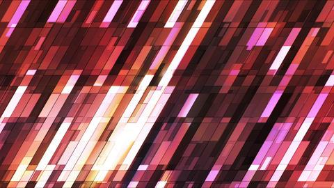 Broadcast Twinkling Slant Hi-Tech Small Bars, Brown Magenta, Abstract, Loopable, HD Animation