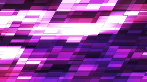 Twinkling Horizontal Slant Hi-Tech Small Bars, Purple Magenta, Abstract, Loopable, HD Animation