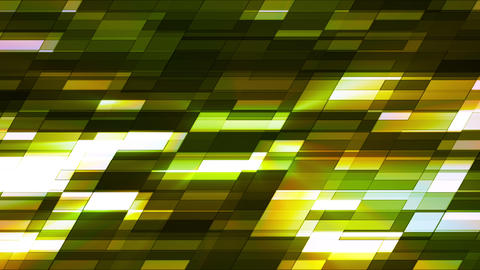 Twinkling Horizontal Slant Hi-Tech Small Bars, Green, Abstract, Loopable, HD Animation