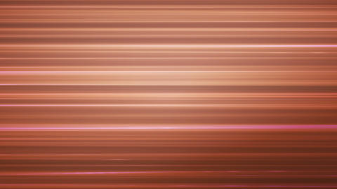 Broadcast Horizontal Hi-Tech Lines, Brown Orange, Abstract, Loopable, HD Animation