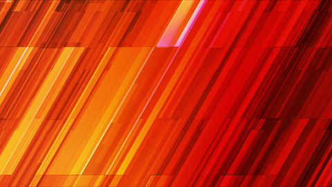 Broadcast Twinkling Slant Hi-Tech Bars, Orange Red, Abstract, Loopable, HD Animation