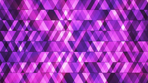Broadcast Twinkling Hi-Tech Diamonds, Purple Magenta, Abstract, Loopable, HD Animation