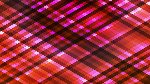 Broadcast Twinkling Diamond Hi-Tech Strips, Orange Magenta, Abstract, Loopable, Animation