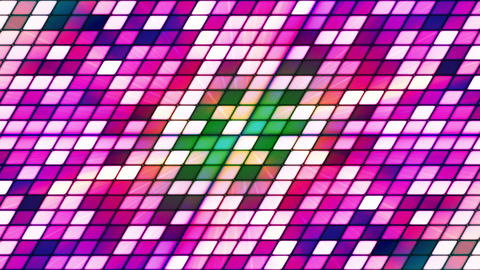 Broadcast Twinkling Slant Hi-Tech Cubes, Magenta, Abstract, Loopable, HD Animation