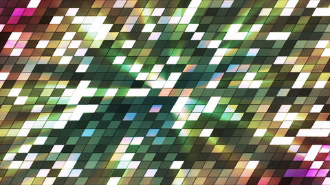 Broadcast Twinkling Slant Hi-Tech Squares 19 Animation