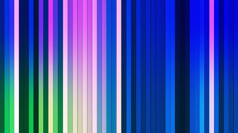 Broadcast Twinkling Vertical Hi-Tech Bars 15 Animation