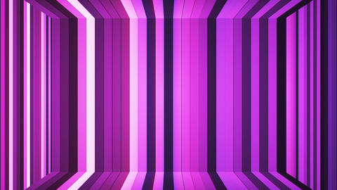 Broadcast Twinkling Vertical Hi-Tech Bars Room, Purple, Abstract, Loopable, HD Animation