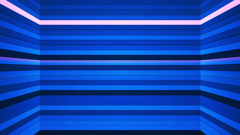 Broadcast Twinkling Horizontal Hi-Tech Bars Shaft 01 Animation