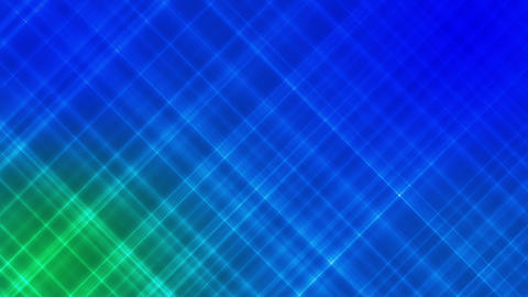 Broadcast Intersecting Hi-Tech Slant Lines, Blue Green, Abstract, Loopable, HD Animation