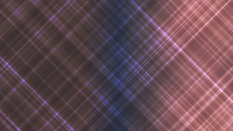 Broadcast Intersecting Hi-Tech Slant Lines, Brown Purple, Abstract, Loopable, HD Animation