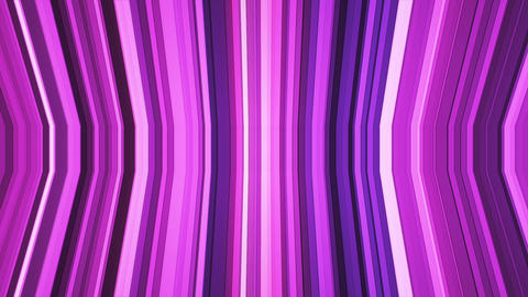 Broadcast Twinkling Vertical Bent Hi-Tech Strips, Magenta Purple, Abstract, Animation