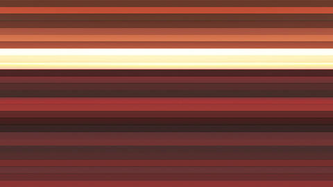 Broadcast Twinkling Horizontal Hi-Tech Bars, Brown Orange, Abstract, Loopable, Animation