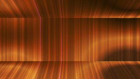 Broadcast Vertical Hi-Tech Lines Passage, Golden, Abstract, Loopable, HD Animation