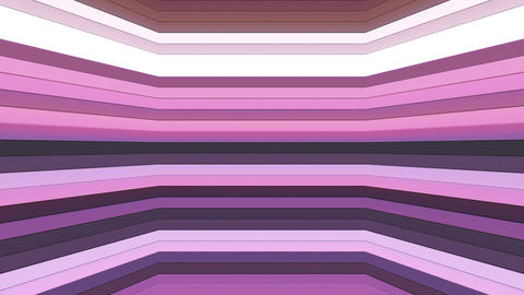 Broadcast Twinkling Horizontal Hi-Tech Bars Shaft, Purple Magenta, Abstract, Animation
