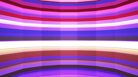 Broadcast Twinkling Horizontal Hi-Tech Bars Shaft, Purple Magenta, Animation